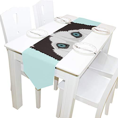 ugen Wilde Kommode Schal Stoffbezug Tischläufer Tischdecke Tischset Küche Esszimmer Wohnzimmer Home Hochzeitsbankett Dekor Indoor 13x90 Zoll ()