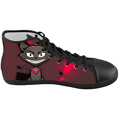 Dalliy s¨¹?e katze Men's Canvas shoes Schuhe Lace-up High-top Footwear Sneakers E