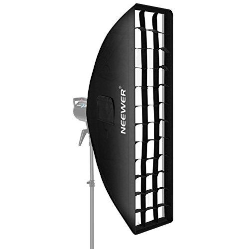 Neewer Softbox mit Bowens-Halterung, Speedring für Speedlite Studio, Monolight, Portrait- und Produktfotografie, 20 x 90 cm