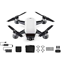 DJI Spark Quadcopter Fly More Combo, Alpine White
