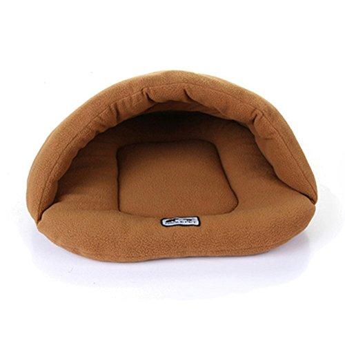 Mixse Saco Dormir Gato Mascotas Camas cálido Snuggle