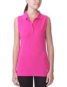 Under Armour UA Core Solid Sl Polo de golf sans manches femme Rush XS