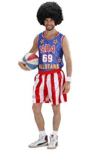 Basketball-Spieler Kostüm Sportler bunt (Spieler Ball Kostüm Halloween)