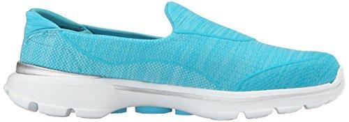 Skechers Super Sock 3, Scarpe da Ginnastica Donna, Black White Turquoise