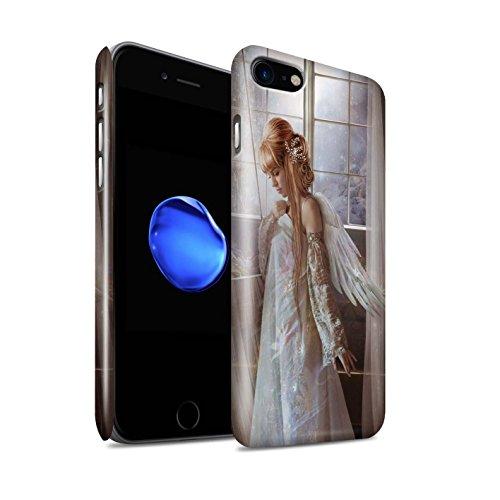 Offiziell Elena Dudina Hülle / Glanz Snap-On Case für Apple iPhone X/10 / Fee von das Land Muster / Elegante Feen Kollektion Blume Kleid Braut