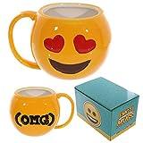 GUIDEB Kreative Nette Emoji Tasse Kaffee Tee Trinken Tasse Großes Gesicht Emotionale Becher Gesichtsausdruck Tasse und Becher Liebe