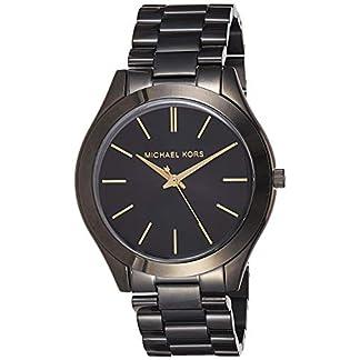 Michael Kors Slim Runway – Reloj de Acero Inoxidable para Mujer, 42 mm