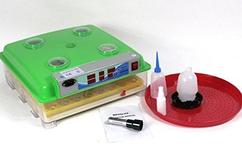 Brutmaschine BK55LUX LOW NOISE VOLLAUTOMATISCH + Zubehör, 55 Eier , Brutautomat, Inkubator