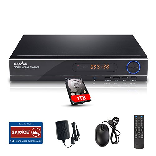 SANNCE AHD 1080N 8 Canali Network Digital Video Recorder Video