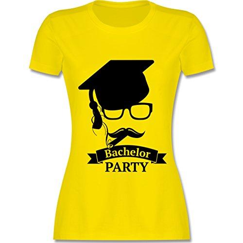 Abi & Abschluss - Bachelor Party Abschluss Studium - tailliertes Premium T-Shirt mit Rundhalsausschnitt für Damen Lemon Gelb