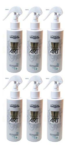 Loreal Pli Volume 6 x 200 ml Thermo-Spray Tecni.art Styling für kräftiges Haar Neue Serie