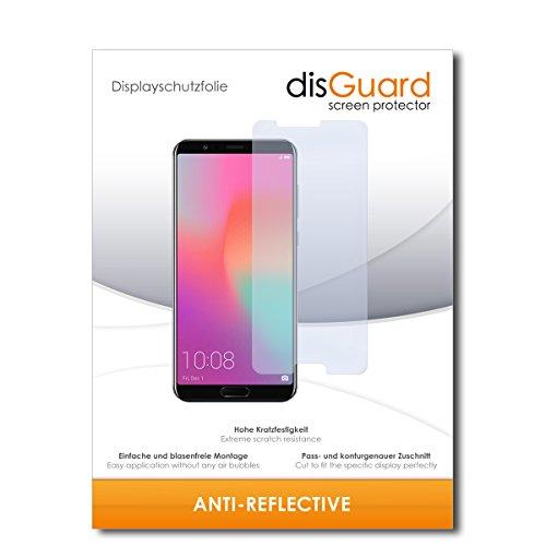 disGuard® Bildschirmschutzfolie [Anti-Reflex] kompatibel mit Huawei Honor View 10 [2 Stück] Entspiegelnd, Matt, Antireflektierend, Extrem Kratzfest, Anti-Fingerabdruck - Panzerglas Folie, Schutzfolie