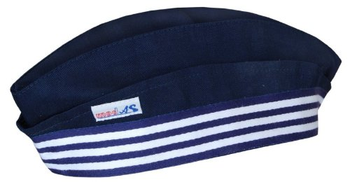 Yacht Erwachsene Hut (Matrosenmütze-Schiffchen, Größe 1 - XS = Kinder 2-6 Jahre,)
