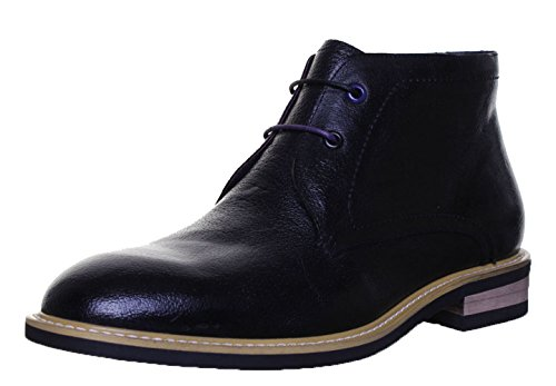 justin-reece-raoul-mens-leather-matt-boots-9-uk-black-fv1