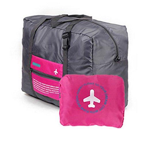 Kicode borsa da viaggio stoccaggio impermeabile a grande capacità pieghevole borsa per bagagli portatile