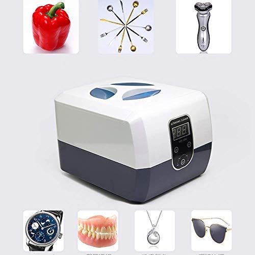 XISURE Manicure Tool Sterilisator, professionelle Ultraschallreiniger Machinefor Schmuck Diamanten Brillen Sonnenbrillen mit Digital Timer Zahnersatz -