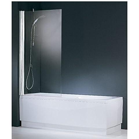 Baignoire 150 X 70 - Novellini-Pare baignoire Aurora 1 panneau pivotant 70x150