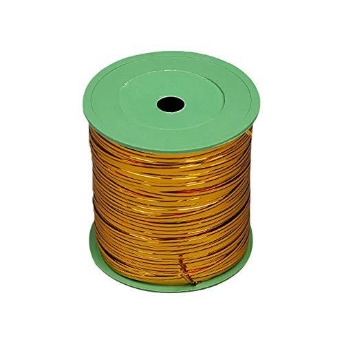 YINSONG Kabelbinder - Metallic Twist Bindungen für Candy Brot Geschenk (360 Meter), Gold, 360m -