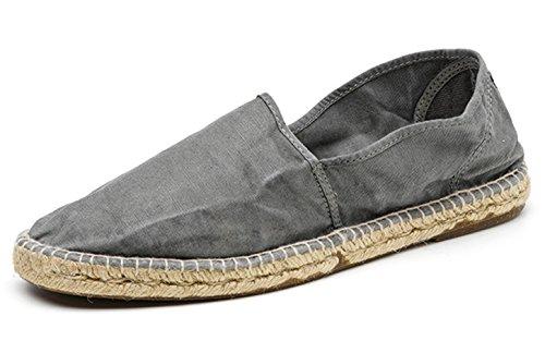 Natural World Eco – Chaussures Espadrilles VEGAN Tennis MODE Tendance en Jute pour hommes Coloris Variés – Bio – Classiques - CAMPING YUTE ENZIMATICO 623