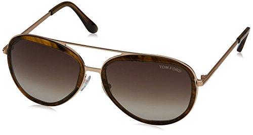 Tom Ford Sonnenbrille FT0468_41K (58 mm) Marrón, 58