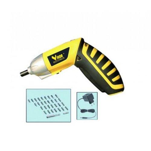 Vigor Va 360 Kit Avvitatore a Batteria di Litio, 3.6 V