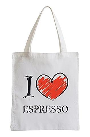 I love espresso Fun Jute