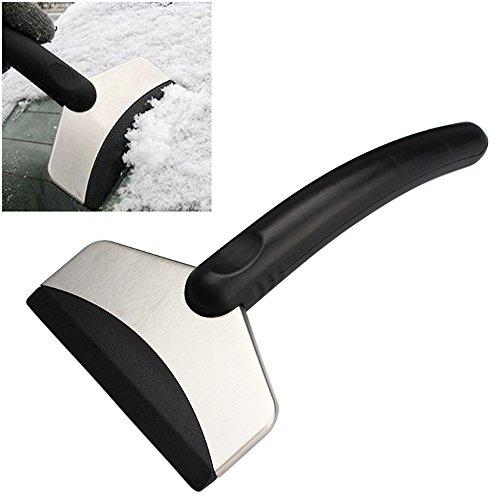 Luniquz Auto Eiskratzer Eisschaber Schneeschaufeln Eisschaufel für Auto/Wagen/Fahrzeugen/Glas/Kühlschrank/KFZ