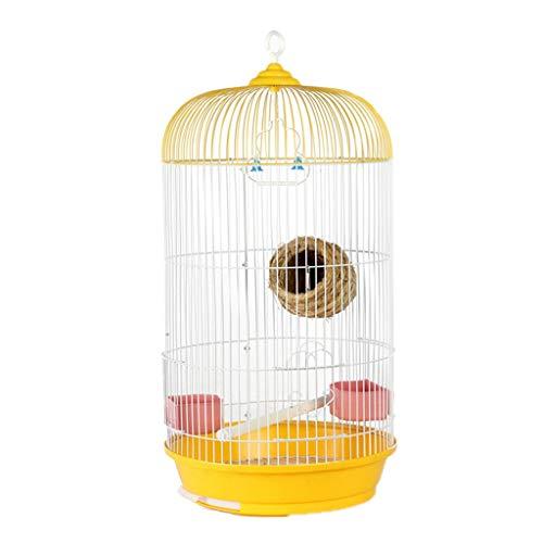 Hjd-Pet Nest Luxus Vogelkäfig Metall Vogelkäfig Tiger Haut Villa Käfig Papagei Käfig Zucht Käfig Runde Großen Käfig Kann Hung