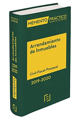 Memento Arrendamiento de Inmuebles 2019-2020 por Lefebvre-El Derecho