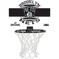 Spalding NBA Miniboard Brooklyn Nets 77-662Z Minicanasta, Unisex, Multicolor, Talla Única