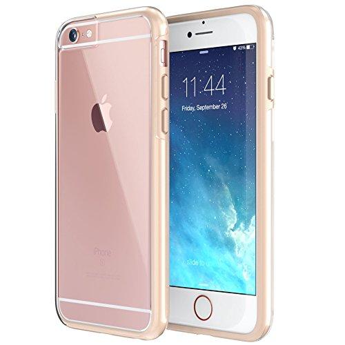 iPhone 66S 4,7Case, coque True Color® Cristal Clear Transparent Hybrid capot soutenir Stark + Soft Fine Long de chocs de protection TPU stoßabdeckungs [Ultra Clear Collection] Dor