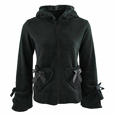 Poizen Industries - Hoodie Alice Hood Black Black S