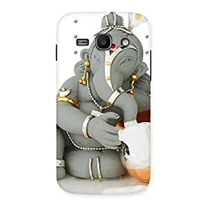 Delighted Ganesha Ji Multicolor Back Case Cover for Galaxy Ace 3