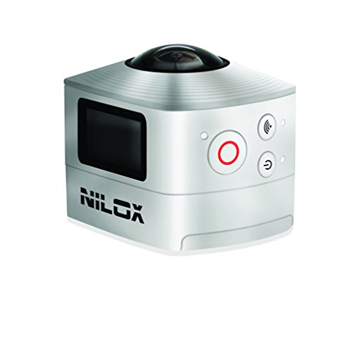 Galleria fotografica Nilox Action Cam Evo 360 Videocamera Full HD, 1920 x 1440 P, 30 fps, 8 MP, Argento