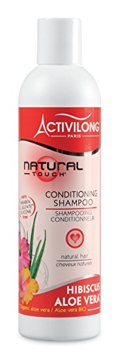 Activilong Natural Touch Shampooing Conditionneur Hibiscus et Aloe Vera Bio 250 ml