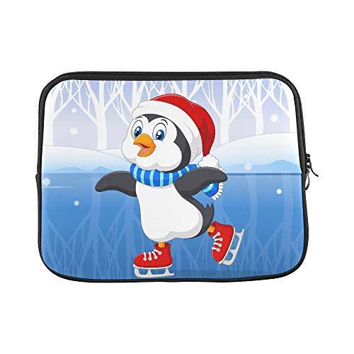 EIJODNL Schutzhülle für MacBook Air 27,9 cm (11 Zoll) (Motiv Pinguin im EIS)