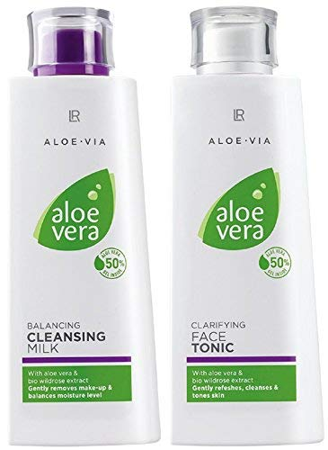 LR ALOE VIA Aloe Vera Gesichtsreinigungsset (Reinigungsmilch & Gesichtswasser)