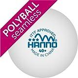 HANNO ITTF Wettkampfball 40+ Polyball / Plastikball