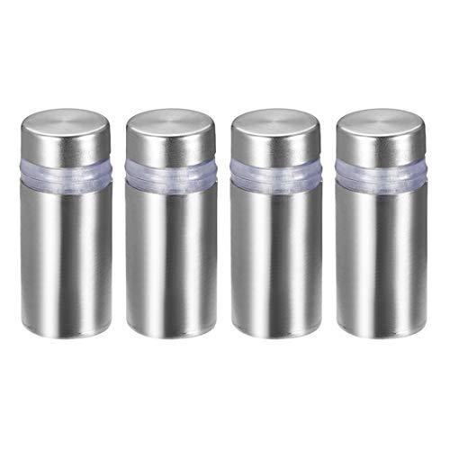 halter aus Edelstahl zur Wandabstandshalterung für Werbenägel 2, a18082300ux0096, 12mm x 28mm (4 Pcs) ()