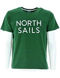 NORTH SAILS hombres de la camiseta de manga corta 694441 000 0090