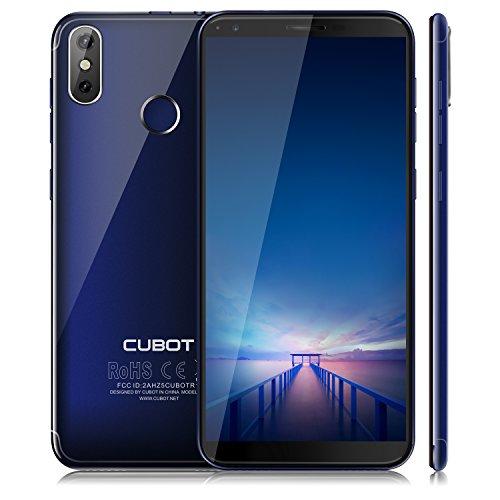 CUBOT R11 (2018) Android 8.1 Oreo Dual SIM Smartphone ohne Vertrag, 5.5 Zoll (18:9) IPS HD+ Touch Display, 2GB Ram+16GB interner Speicher, 13MP+2.0MP Hauptkamera / 8MP Frontkamera, Blau