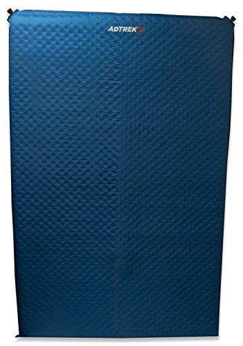 Adtrek Selbstaufblasbare Isomatte/Matratze für Camping - Für 2 Person - Blau - 5 cm