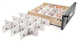Periea organisateur de tiroir pour bureau serah - Organisateur tiroir cuisine ...