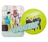 Weezer Official Sticker x 3