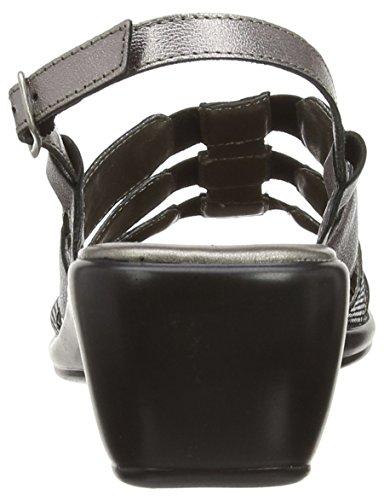 Lotus - Lantic, Sandali da donna grigio (Grau (Pewter Leather/Print))