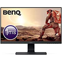 BenQ GL2580HM 24.5 Inch FHD 1080p 1 ms Eye care LED Gaming Monitor, HDMI, Speaker , Black