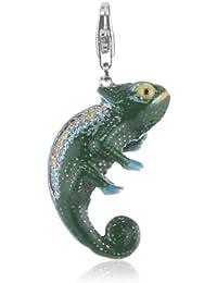 Esprit Jewels Damen-Charm chameleon glam XL 925 Sterling Silber ESCH91244A000
