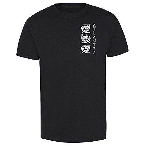 "Atlantes ""Adamastor"" T-Shirt (schwarz) Schwarz"