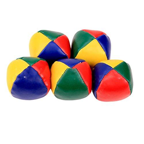 XuBa Jonglier-Ball Classic Beanbag Jonggle Magic Circus Anfänger Kinder Spielspielzeug Geburtstag Weihnachten Weihnachten Geschenk für Kinder