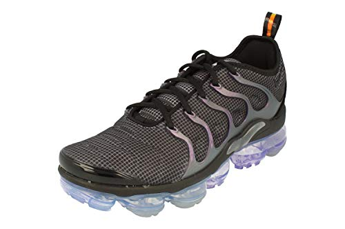 reputable site 21df4 d5d21 Nike Air Vapormax Plus, Zapatillas de Atletismo para Hombre, Black Dark  Grey